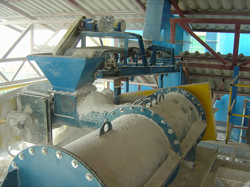 Gypsum Pin Mixer
