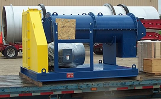 Pin Mixer for Pelletized Limestone & Gypsum