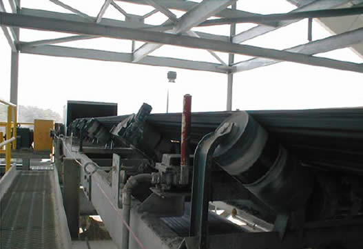gypsum conveyor