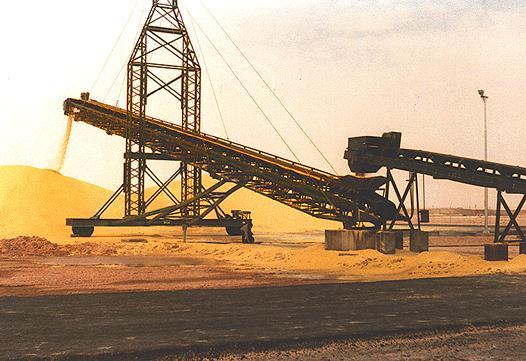 Sulfur Radial Stacking Conveyor