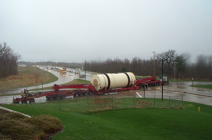 FEECO Rotary Dryer on truck