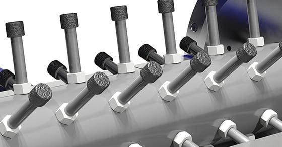 Pin Mixers Ideal for De-dusting Coal