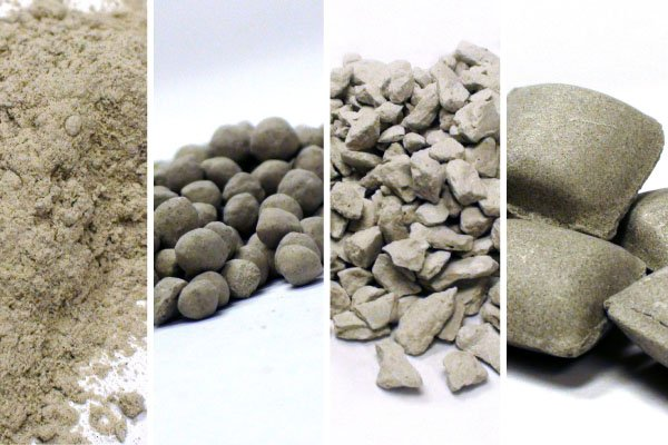 Pellets-Compaction Granules-Briquettes