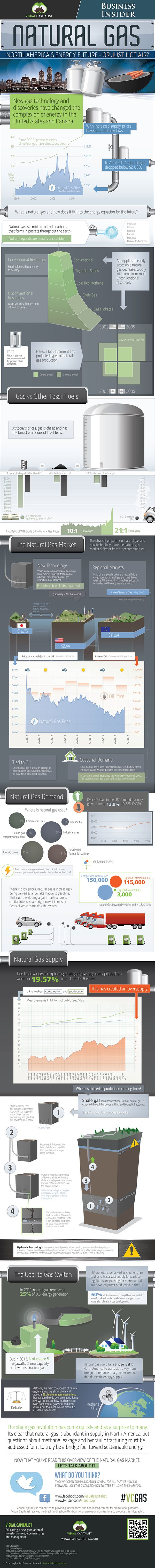 Natural Gas Infographic by Visual Capitalist