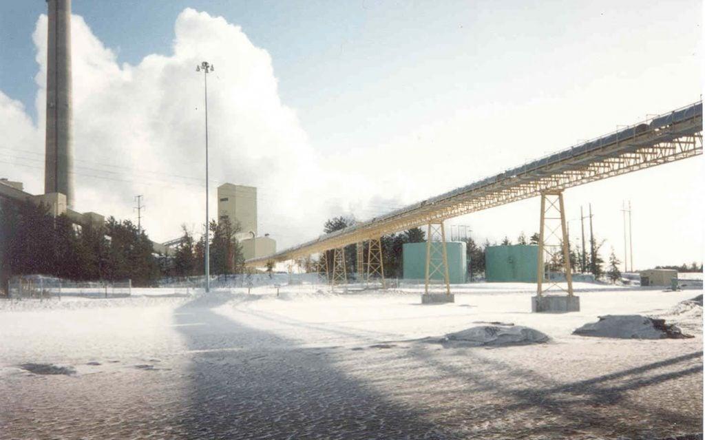 coal handling conveyor system
