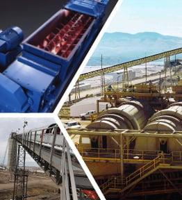 Heavy Duty Heap Leaching Equipment for gold ore, silver ore, copper ore, uranium ore, etc.