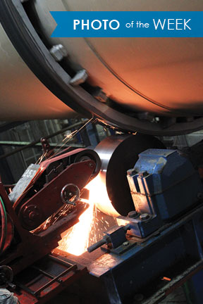 Tire (Tyre) and Trunnion Grinding