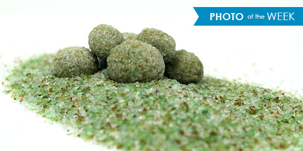 Pelletized Recycled Glass