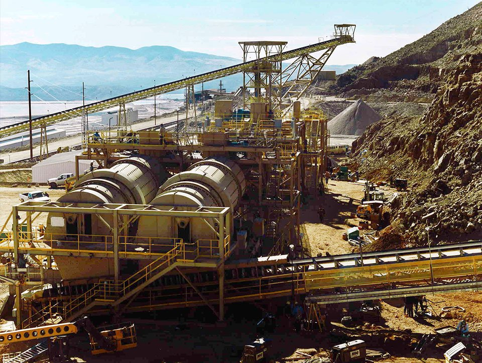 Mining Agglomeration Drums