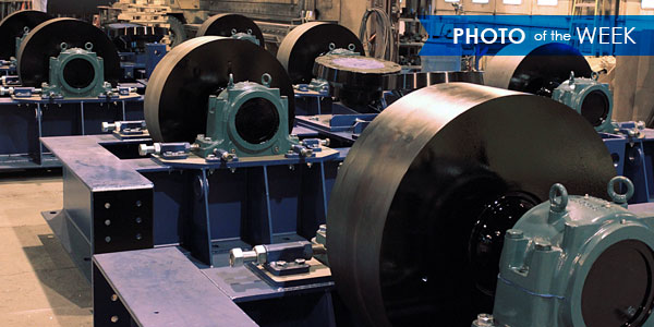 Photo Of The Week Trunnion Wheels