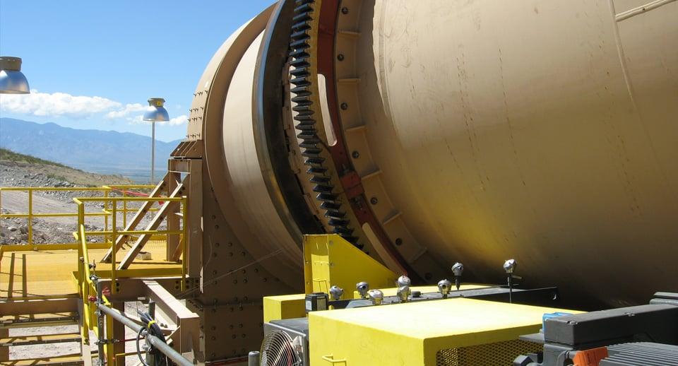 Heap Leaching Agglomeration Drum (Agglomerator)