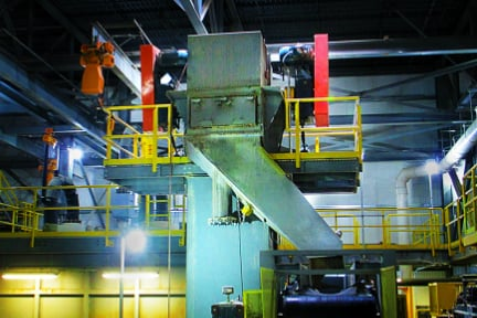 Regardless of the material being handled or the configuration type being used, regular maintenance is absolutely essential to bucket elevators.