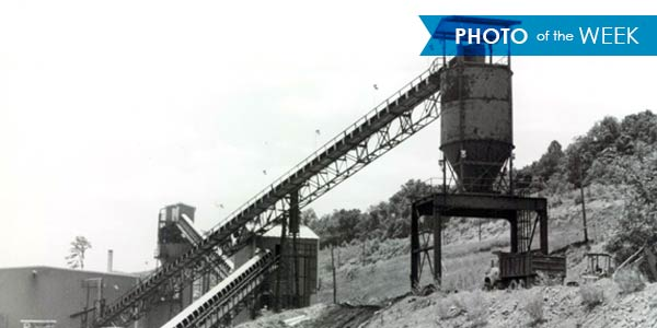 This conveyor photo was taken in the late 1960s.