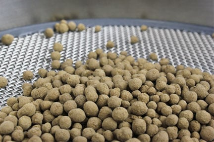 Pelletized (Pelletised) Limestone produced in the FEECO Innovation Center