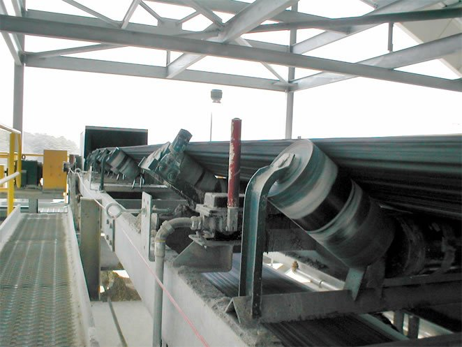 Gypsum Conveying System