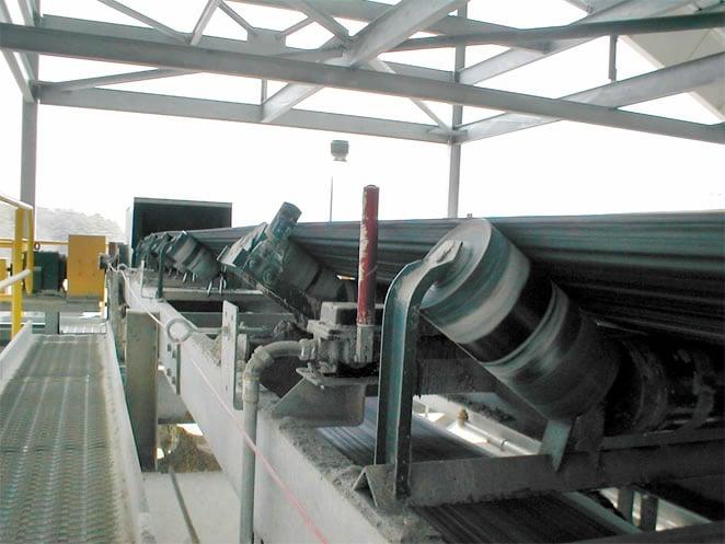 Gypsum Conveying System