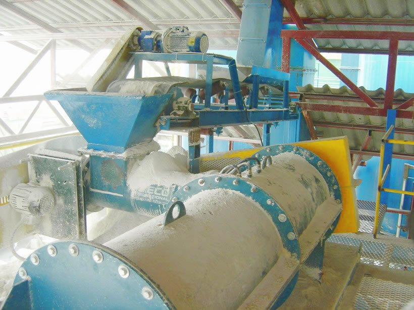 Gypsum Pelletizing (Pelletising) System