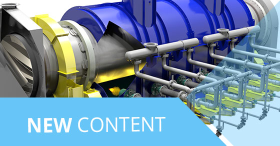 New Content 3D Calciner (Indirect Rotary Kiln)