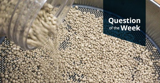 Sieve analysis- one of many tests performed in the FEECO Innovation Center