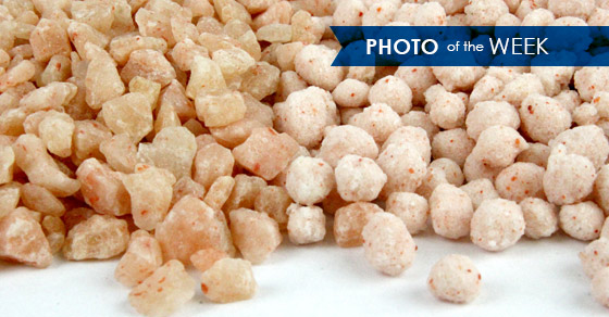 Potash Fertilizer (Fertiliser) Granules and Pellets