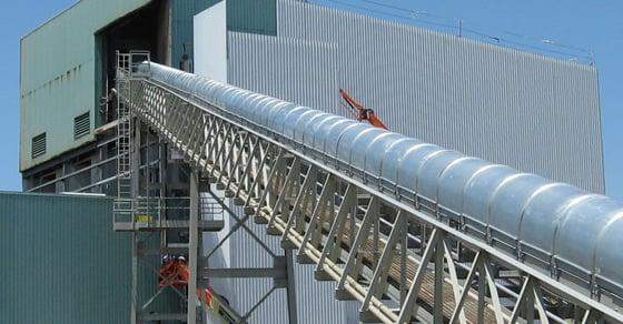 Steep Incline Conveyors