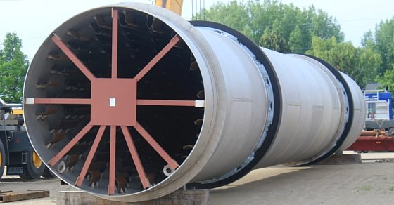 Phosphate Rotary Dryer