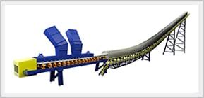 3D Image of a FEECO Belt Conveyor