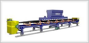 3D Image of a FEECO Reversing Shuttle Conveyor