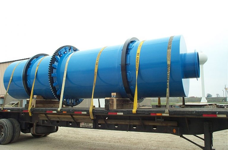 Phosphate Rock Conditioning Drum