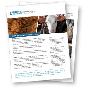 Bedding Recovery Brochure, Bedding Dryers (Driers), Dried Manure Solids Bedding