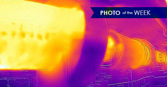 Rotary Dryer Thermal Imaging