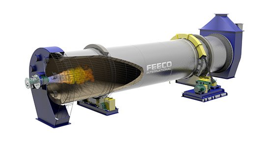 3D Model of a FEECO Aluminum Decoating (Delacquering) Kiln