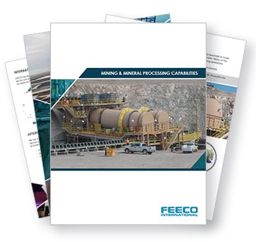 Mining and Mineral Processing Capabilities Brochures