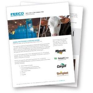 MCP, DCP & PFT Animal Feed Granulation Brochure