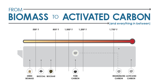 Infographic: From Biomass to Activated Carbon (and everything in between)