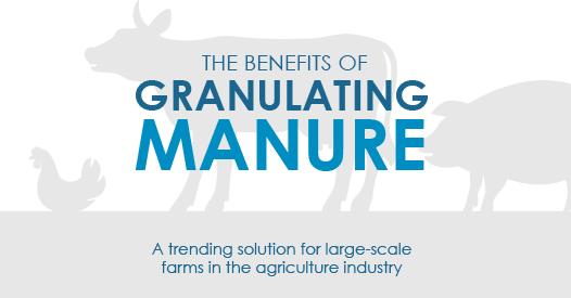 Benefits of Granulating Manure Infographic