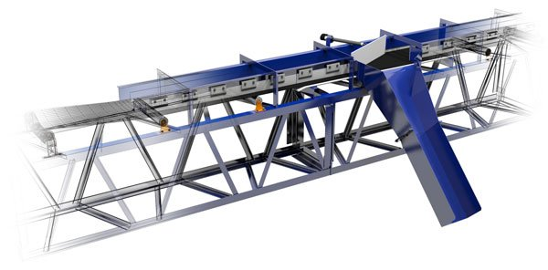Belt Plow for Phosphates