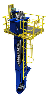 Bucket Elevator for Phosphates