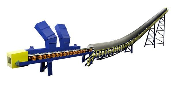 Phosphates Belt Conveyor