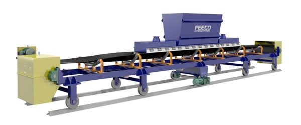 Reversing Shuttle Conveyor for Phosphates