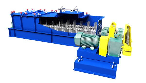Pug Mill for Phosphate Animal Feed Production