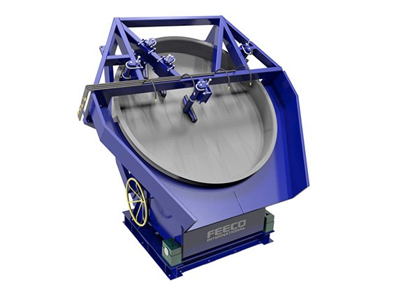 Disc Pelletizer (Pelletiser) for Fly Ash Lightweight Aggregate (LWA) Production