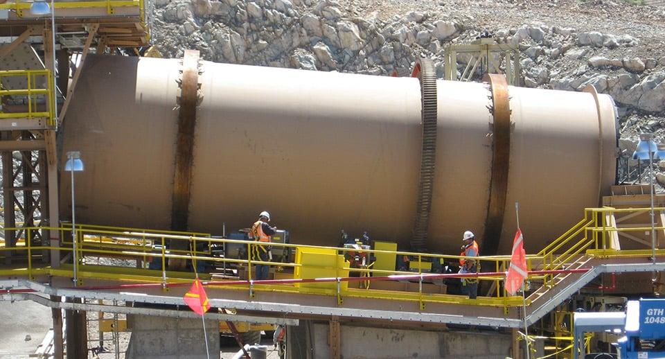 Uranium Heap Leaching Ore Drums (Agglomerators)