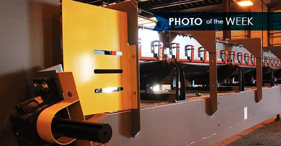 Photo of the Week: Troughed Belt Conveyor