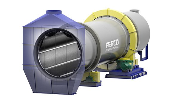 3D Model of a FEECO Rotary Drum for Conditioning