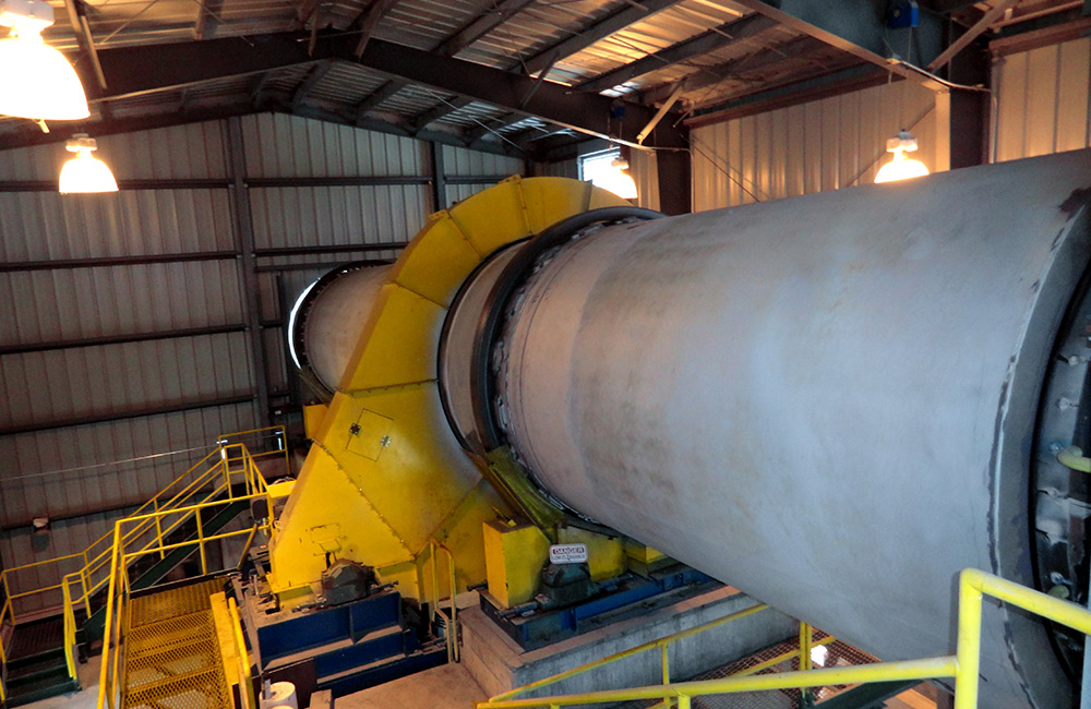 Rotary Dryer for Frac Sand
