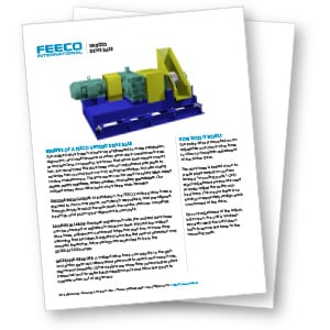 FEECO Rotary Drum Unitized Drive Base Brochure