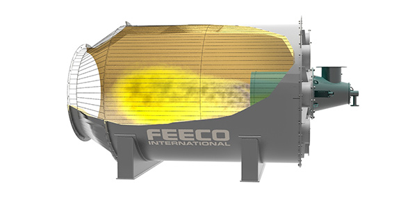 Frac Sand Dryer (Drier) Combustion Chamber 3D Model