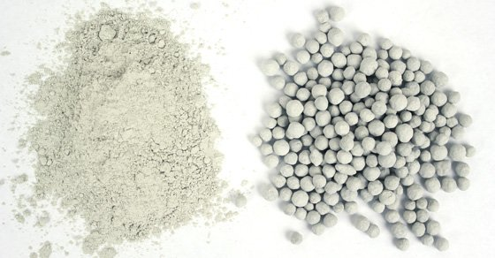 Raw and Pelletized Fly Ash