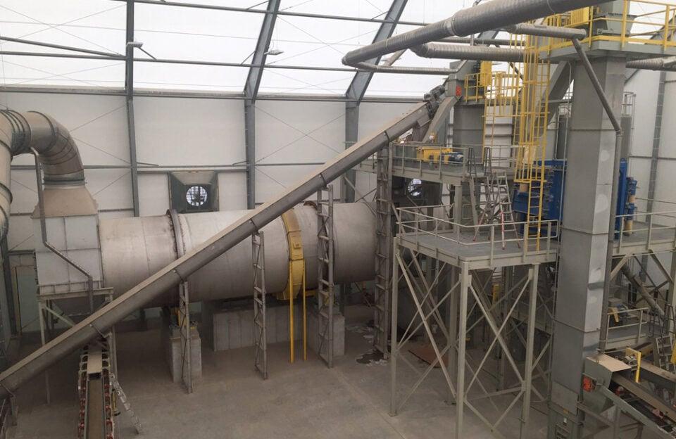 Manure Granulation Plant